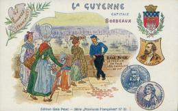 33 BORDEAUX / La Guyenne - Edition Gala Peter / Dessin Couleur / - Bordeaux