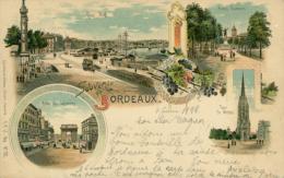 33 BORDEAUX /  Souvenir De.../ Multivues / Dessin / - Bordeaux