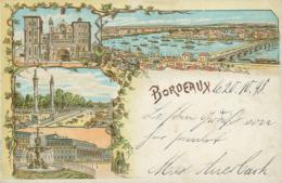 33 BORDEAUX /  Bordeaux / Multivues / Dessin / - Bordeaux