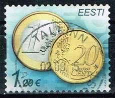 Estland 2014, Michel#- 784, 807 O Euro Coins O - Estonia