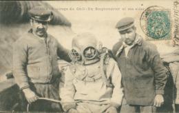 33 BORDEAUX / Naufrage Du Chili - Un Scaphandrier Et Ses Aides / - Bordeaux