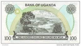 UGANDA P. 14b 100 S 1979 UNC - Ouganda