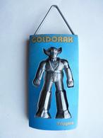RARE Pas FIGURINE - DEODORANT GOLDORAK BLEU CLAIR Fougères 1978 - Goldorak