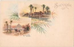 EGYPTE --Souvenir De ... Multivues - Dahomey