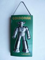 RARE Pas FIGURINE - DEODORANT GOLDORAK VERT Lavande 1978 - Goldorak