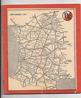 Indicateur 1941 Des Chemins De Fer De La S.N.C.F. Ouest - Sud-Ouest..88 Pages. - Railway