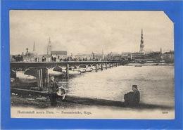 LETTONIE - RIGA Pontonbrücke - Lettonie
