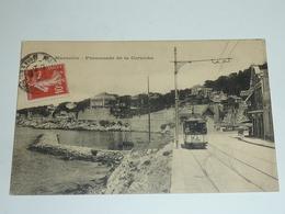 MARSEILLE - PROMENADE DE LA CORNICHE - TRAMWAY - 13 Bouches Du Rhone (AC) - Endoume, Roucas, Corniche, Plages