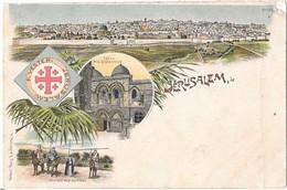 JERUSALEM --Souvenir De ... Multivues - Palestine