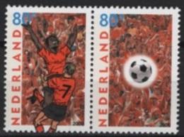 Netherland (2000) Yv. 1759/60  / Joint Issue With Belgium - Soccer - Football - Calcio - Gezamelijke Uitgaven