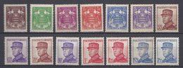 Monaco - YT N° 154 à 166 - Neuf Avec Charnière - 1937 à 1939 - Monaco