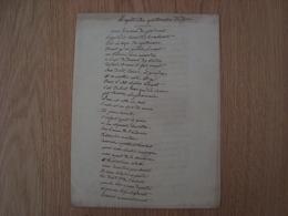 MANUSCRIT REQUETE DES APOTHICAIRE DE DIJON - Manuscrits