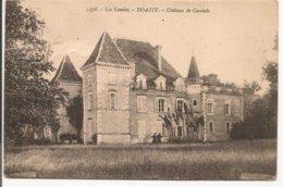 L20H_141 - Doazit - 1378 Château De Candale - France