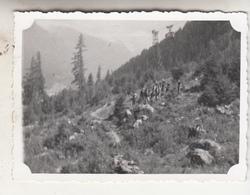 Les Pélérins (Chamonix) - 1939 - Photo Format 6 X 8.5 Cm - Places