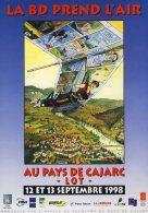 GIBRAT : Affiche Salon CAJARC - Affiches & Offsets