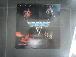 VINYLE 33 T  1978 VAN HALEN  VOIR PHOTOS - Rock