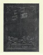 RAS EL KHAIMA ( AS- 427 )  DE GAULLE MEMORIAL TIMBRE ARGENT   N** - Timbres
