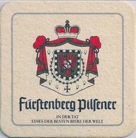 SOUS-BOCK - FURSTENBERG PILSENER - Beer Mats