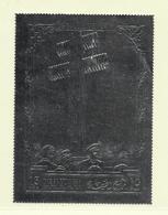 RAS EL KHAIMA ( AS- 428 )  DE GAULLE MEMORIAL TIMBRE ARGENT   N** - Timbres