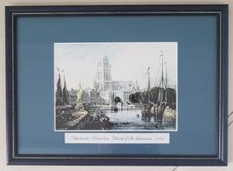 Netherland, Rotterdam Church Of St, Lawrence, 1834, Holland, Nederland - Popular Art