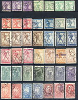 YUGOSLAVIA (SHS) Slovenia 1919 Typographed Issues With Shades, Used.  Michel 99 II A - 111 II A, SG 127-38 - Used Stamps