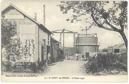 Cpa Saint André De L'Eure - L'Usine à Gaz - France