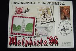 1996   CON GAETANO SALVEMINI  MOLFETTA  FDC    FIRST DAY  MAXIMUM - Francobolli (rappresentazioni)