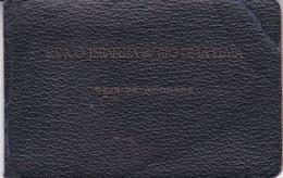 LIBRETA DE CAJA DE AHORROS. BANCO ISAELITA DEL RIO DE LA PLATA. CIRCA 1947-ARGENTINE- BLEUP - Rechnungen