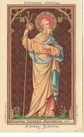 DI/5/    H.JACOBUS APOSTEL                                              LITHO + MEESTAL GOUDOPDRUK - Religion & Esotericism