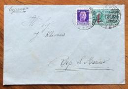 R.S.I. BOLOGNA  BUSTA ESPRESSO CON 50 C. + ESPRESSO L. 1,25 SU  BUSTA PER SAN MARINO IN DATA 4/5/44 - 5. 1944-46 Lieutenance & Umberto II