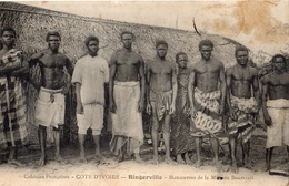 COTE D'IVOIRE BINGERVILLE MANOEUVRES DE LA MISSION BOURSAULT - Ivory Coast