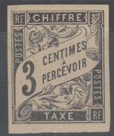 #131# COLONIES GENERALES TAXE N° 3 * - Postage Due