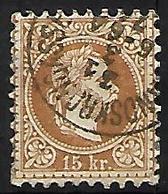 AUTRICHE    -  1867  .  Y&T N° 37 Oblitéré  . - 1850-1918 Empire
