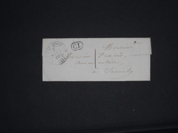 Lettre Cachet La Ferte ST Aubin + CL Taxe 1 Loiret - Postmark Collection (Covers)