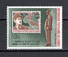 CONGO PA  N°  134  NEUF SANS CHARNIERE  COTE  22.50€   GENERAL DE GAULLE - Congo - Brazzaville