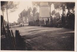 Photo Ancienne  Antibes Course Automobile Une Bugatti  Avril 1928 - Cars