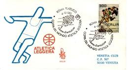 """1981 - FDC """" ATLETICA LEGGERA """"  VENETIA VIAGGIATA VEDI++++ - 6. 1946-.. Republic"""