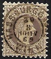 AUTRICHE    -  1867  .  Y&T N° 38 Oblitéré  .  Superbe  !!! - 1850-1918 Empire