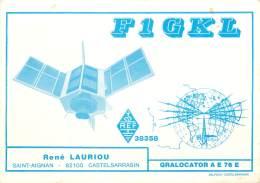 CARTE QSL -  SAINT AIGNAN 82 CASTELSARRASIN - 1984 - Radio Amatoriale