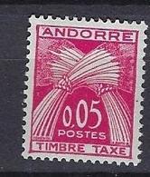 Andorre 1961 Y&T N°42 Neuf Et Sans Charnière - Postage Due