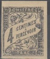 #131# COLONIES GENERALES TAXE N° 4 * - Postage Due