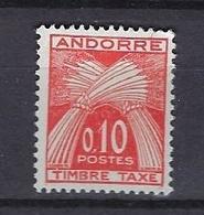 Andorre 1961 Y&T N°43 Neuf Et Sans Charnière - Postage Due