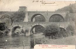 TROIS-PONTS L'AMBLEVE ET LES DEUX PONTS - Trois-Ponts
