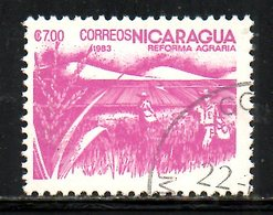NICARAGUA. N°1308 Oblitéré De 1983. Sorgho. - Agriculture