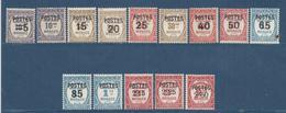 Monaco - YT N° 140 à 153 - Neuf Avec Charnière - 1937 - Monaco