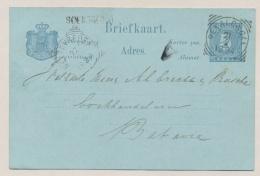 Nederlands Indië - 1894 - 5 Cent Cijfer, Briefkaart G10 Van L SOEKOREDJO Via VK PEKALONGAN Naar Batavia - Indes Néerlandaises