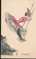 MOUTON GEORGES - EROTISME EROS RISQUE FEMME GIRL WOMAN - - Illustrateurs & Photographes