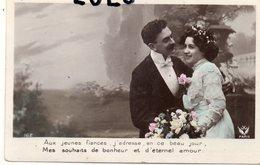 COUPLES 337 : Jeunes Fiancés : édit. Voir Logo ? N° 162 - Couples