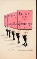 MOUTON GEORGES - EROTISME EROS RISQUE FEMME GIRL WOMAN - LIGUE CONTRE LES CELIBATAIRES - Other Illustrators