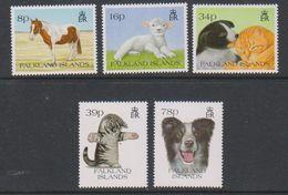 Falkland Islands 1993 Pets 5v ** Mnh (40957) - Falklandeilanden